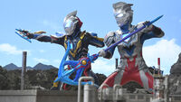 Ultraman Z Alpha Edge & Geed Galaxy Rising