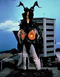 Zetton in Ultraman