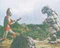 Ultraman Jack vs. Shugaron 3