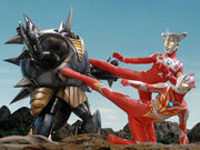 Ultraman Mebius & Leo vs. Alien Reflect 2