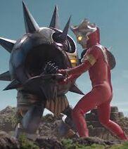 Ultraman Leo vs. Alien Reflect