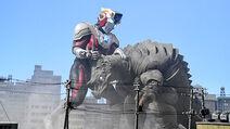 Ultraman Titas vs. Pagos