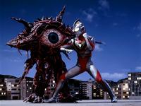 Gan-Q No02 vs. Ultraman Gaia