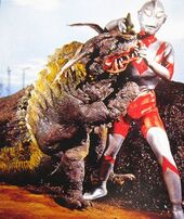 Neronga vs. Ultraman