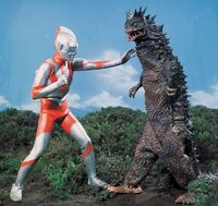 Ultraman vs. Bemular
