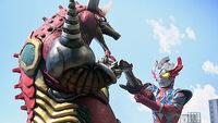 Ultraman Taiga vs. Gorothunder