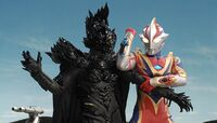 Mebius vs. Alien Empera