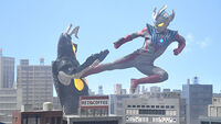 Ultraman Taiga vs. Zetton