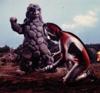 Ultraman Jack vs. Shugaron 2
