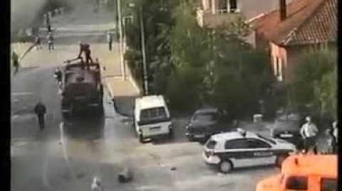 2009. Sukobi Hrvata i Muslimana u Sirokom Brijegu
