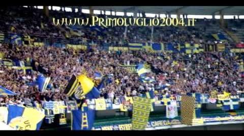 Curva Sud Hellas Verona - Salernitana 12 06 11