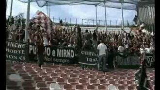 Ultras Trapani a Messina