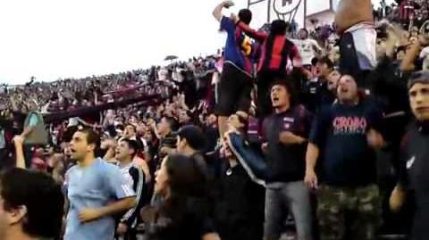 Huracan San Lorenzo final del partido en la quema - QUE TE PASA QUEMERO