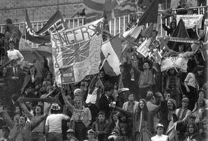 Rangers Fans in Barcelona 1972