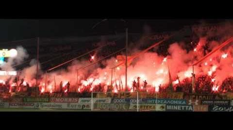 Aris Fans Becoming Insane - season review 2010 2011