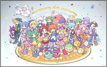 The Puyo Puyo!! 20th Anniversary Picture