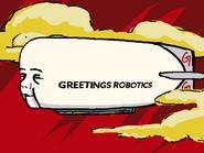 Greetings Robotics Blimp
