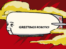 Greetings Robotics Blimp