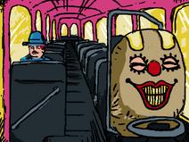 Bus inside