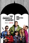 Umbrella Academy Affiche Serie