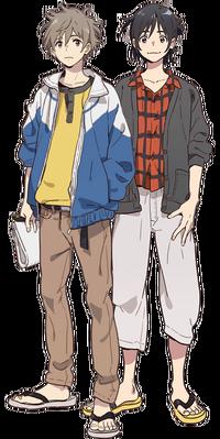 Mio and Shun