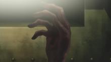 Anime ep1 kinzo hand