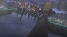 Anime ep2 rosa vs goats