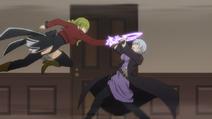 Anime ep3 kyrie vs levia