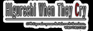 Higurashi Logo Crop