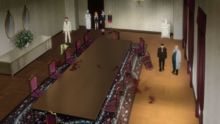 Anime ep1 dining hall blood
