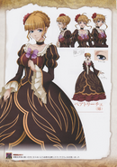 Umineko Pachinko slot artbook pg 14