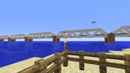 Bridge from beach