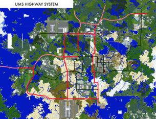 Highway map 2