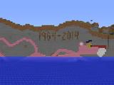 Pink Panther pixel art