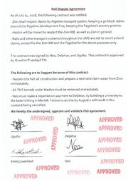 Rail Dispute Agreement
