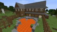 Onsen hot spring pool