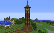 Newport clock tower by hrp4life-d9g99xk
