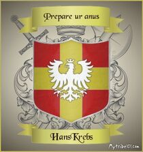 Coat of Arms of Hans Krebs