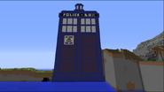 Tardis Pixel Art