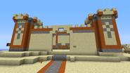 Sandcastle front