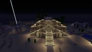 Ziggurat at night
