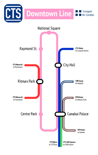 CTS Downtown diagram
