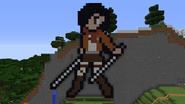 Mikasa pixel art