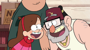 S1e11 Mabel and Grunkle Stan Laughing