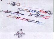 Gehzeug Originalskizze Konflacher