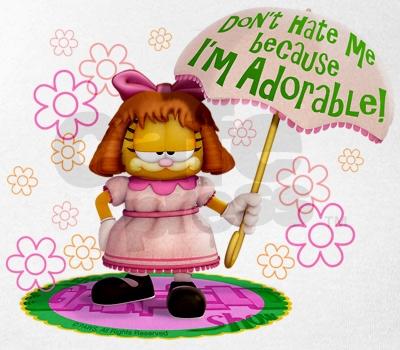 Garfield girl
