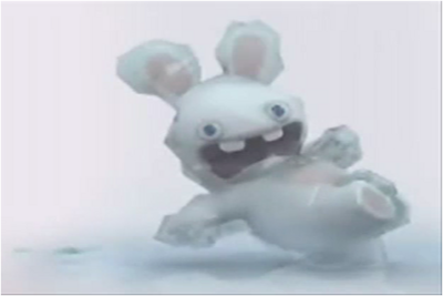 Frozen bunny