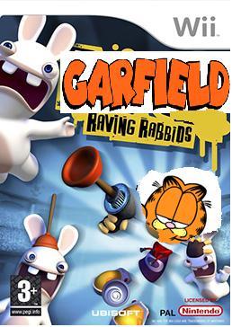 Garfield raving rabbids cover pal