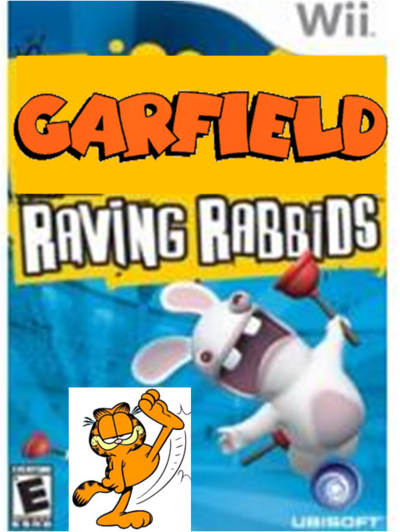 Garfield raving rabbids cover na