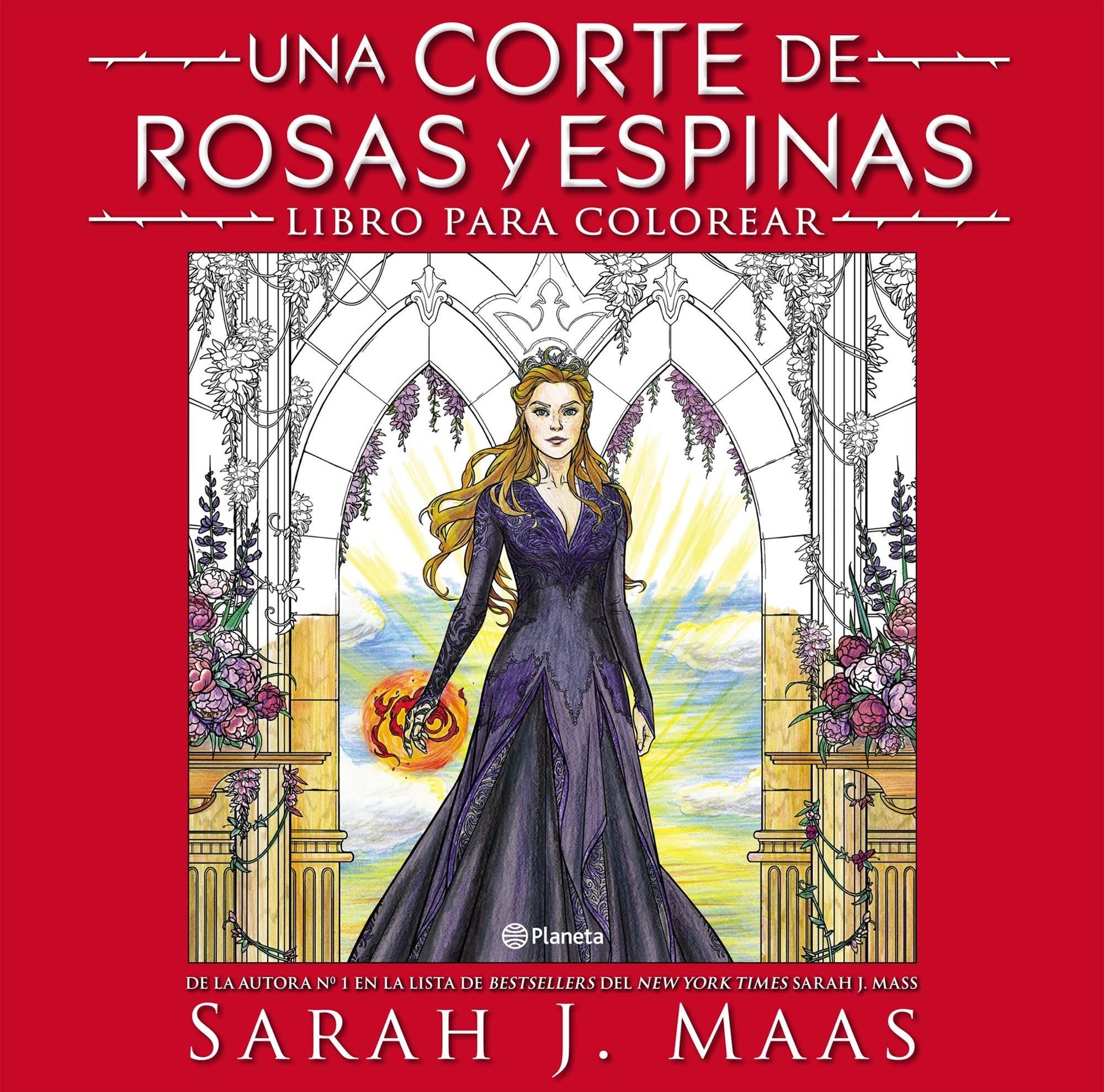 Una Corte de Rosas y Espinas: Libro para colorear | Una Corte de ...